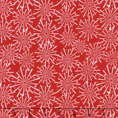 Patriotic Picnic - Fireworks Red Yardage