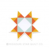 Missouri Star Star Sticker from MSQC