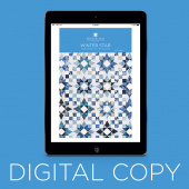 Digital Download - Winter Star Quilt Pattern by Missouri Star
