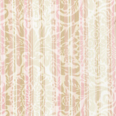 Burgundy & Blush - Damask Stripe Blush Yardage