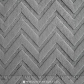 "Cuddle Embossed Chevron - Charcoal 60"" Yardage"