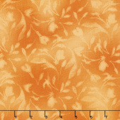 Paradise - Diffused Tonal Orange Yardage