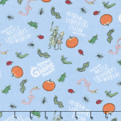 James and the Giant Peach - Creatures Blue Yardage