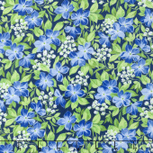 Summer Breeze V - Vinca Navy Yardage