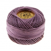 Presencia Perle Cotton Thread Size 8 Medium Antique Violet