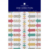 One Direction Quilt Pattern by Missouri Star