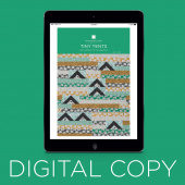 Digital Download - Tiny Tents Pattern by Missouri Star