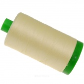 Aurifil 40 WT 100% Cotton Mako Large Spool Thread - Light Lemon