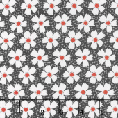 Farmhouse II - Daisies & Gingham Midnight Yardage