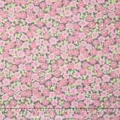 Cozy Cotton Flannels - Flowers Pink Yardage
