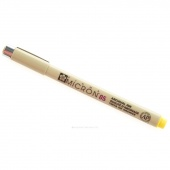 Pigma Micron 05 Pen .45mm Yellow
