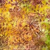 Tonga Batiks - Autumn Rose Bush Autumn Yardage