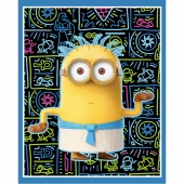 Minions - Egyptian Minions Blue Panel