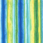 Deep Forest - Stripe Multi Yardage