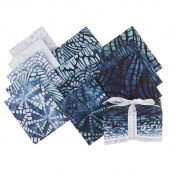 Artisan Batiks - Natural Formations 3 Rain Fat Quarter Bundle