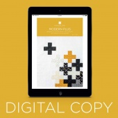 Digital Download - Modern Plus Quilt Pattern by Missouri Star