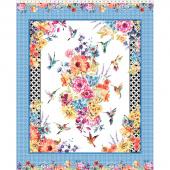Hummingbird Lane - Large Multi Panel