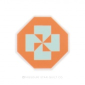 Disappearing Pinwheel Sticker