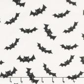 Cats, Bats and Jacks - Bats Cream Yardage