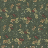 Return to Cub Lake - Oak Leaves Forest Flannel Yardage