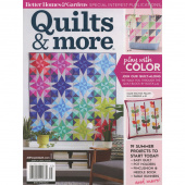 Better Homes & Gardens Quilts & More Summer 2019