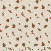 Country Charm - Falling Leaves Oat Yardage