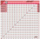 "Cutting Edge Sharpening Edge Ruler - 16.5"" Square"