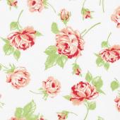 Smitten - Rosy Cream Yardage