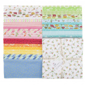 """Lil' Sprout Too! Favorites Flannel 10"""" Squares"""