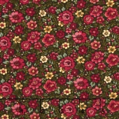 Liberty Hill - Liberty Hill Floral Green/Multi Yardage