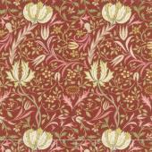 Morris Garden - Flora 1891 Crimson Yardage