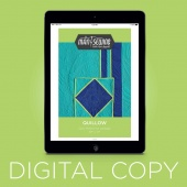 Digital Download - Man Sewing Quillow Quilt Pattern by Rob Appell