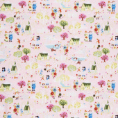 Kindred Spirits: Anne of Green Gables - Town Pink Yardage