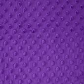 """Cuddle Embossed Dimple - Purple 60"""" Minky Yardage"""