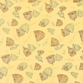 Bee's Life - Beehives Honey Yardage