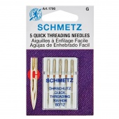 Schmetz Quick Threading (Handicap) Needles 80/12  5 pk