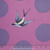 """Free Fall - Orchid 108"""" Backing"""