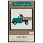 Dump Truck Precut Fused Appliqué Pack