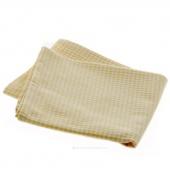 Tea Towel - Mini Check Yellow and White