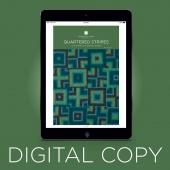 Digital Download - Quartered Stripes Quilt Pattern by Missouri Star