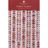 Fancy Flight Quilt Pattern by Missouri Star