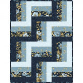 English Countryside Rail Fence Quilt POD Kit