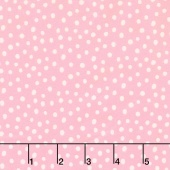 Penned Pals - Pink Colorstory Dots Pink Yardage