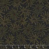 Ebony & Onyx - Starburst Floral Black Yardage