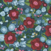 Twilight Tones - Blurry Roses Multi Yardage