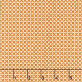Aunt Grace's Flower Pots - Criss Cross Orange Yardage