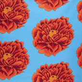 "Kaffe Fassett - Red Bloom 108"" Wide Backing"