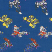 Transformers - In Action in Navy Yardage