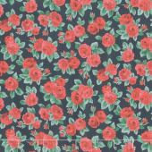Winter Flower Show - Ascot Rose Yardage