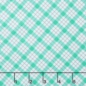Lily - Plaid Mint Yardage